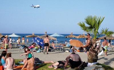 Въездной турпоток из России на Кипр понизился на 32% в марте 2013 года